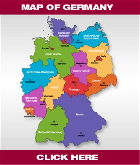 regional map of germany removals to germany moving to germany cranburys