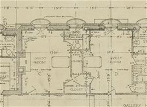 whitemarsh hall floor plan trumbauer collection athenaeum of philadelphia