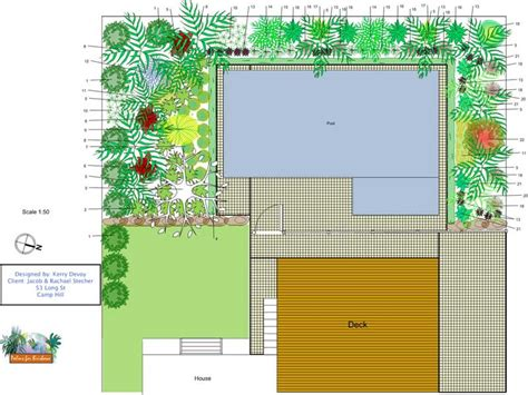 tropical garden design layout pdf