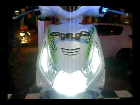 Lu Led Motor Honda Beat led beat senja n sein dpn 8 mode efek