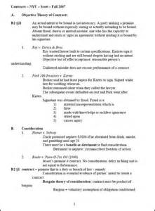 Legislation And Regulation School Outline by Contracts Outline Nyu School Con