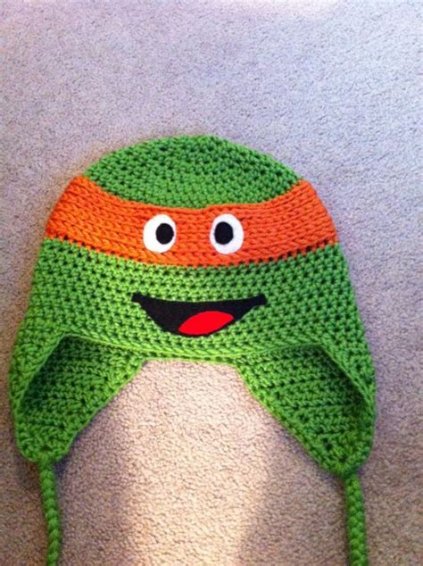 knitting pattern for ninja turtles teenage mutant ninja turtles hat inspiration crochet