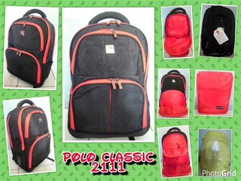 Ransel Laptop Polo Kw distributor tas rangsel tas ransel laptop polo classic 2111