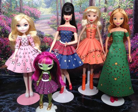 high doll clothes after high printable doll clothes