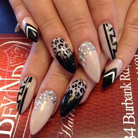 Nail Design Nail Design by Leopard Nail Designs Design Trends Premium Psd Vector