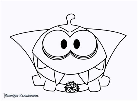 om nom cut the rope 2 coloring pages coloring pages