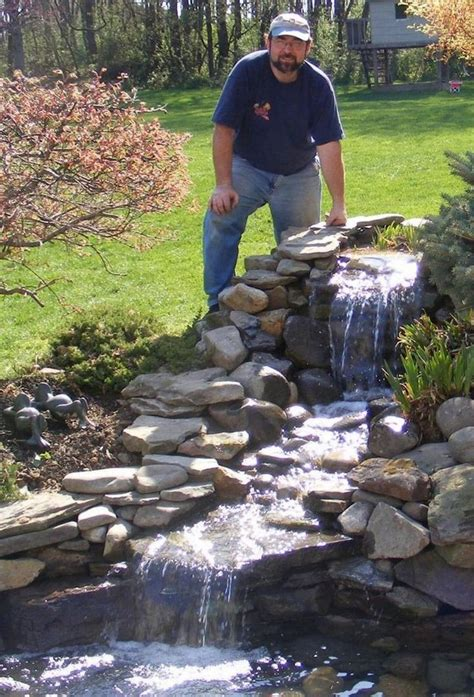 amazing    waterfall   home garden