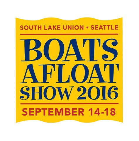 seattle boat show logo lake union boats afloat show drops anchor in seattle sept 14
