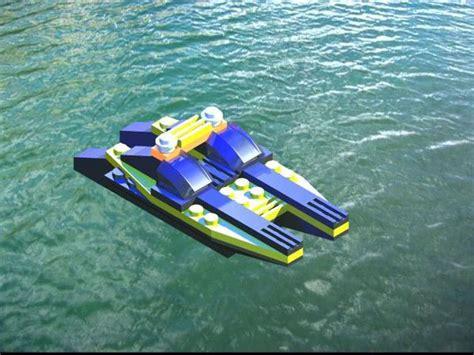 catamaran speed boat lego catamaran speed boat on behance