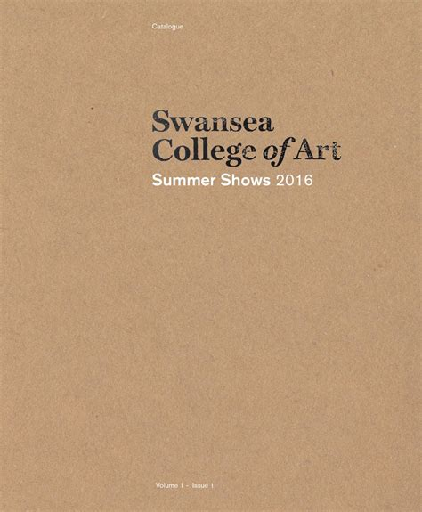 swansea college of summer shows 2016 by of