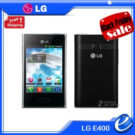 themes for android lg e400 original unlocked lg l3 optimus e400 mobile phone android