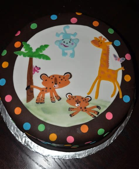 Animal Theme Baby Shower by Animal Theme Baby Shower Cake Cakecentral