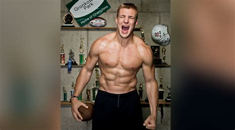 gronkowski familys total body football workout muscle fitness