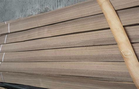 natural walnut wood veneer sheet for cabinets 0 5mm