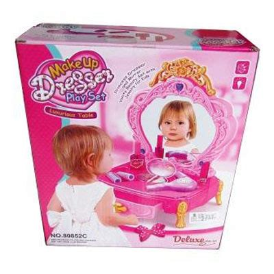 Dresser Playset 80852c Meja Rias Make Up Mainan Anak make up dresser playset rupa2kepik