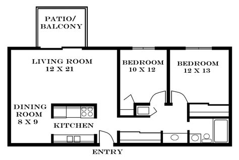 two bedroom apartments floor plans interior design free til