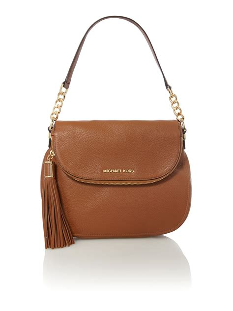 Michael Kors Shoulder Flap Bag by Michael Kors Bedford Flap Shoulder Bag In Brown
