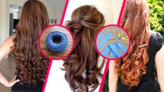 Hair Curlers Without Heat by How To Curl Your Hair Without Heat Overnight