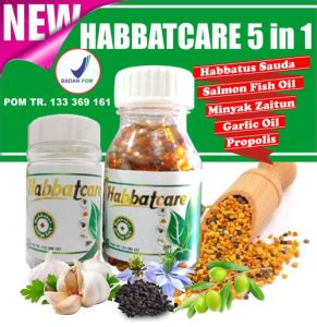 Habbatcare Habbat Care 5 In 1 60 Kapsul Murah 1 habbatcare 5 in 1 herbal sahabat muslim