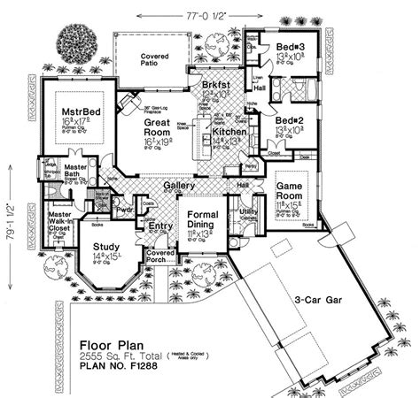 fillmore design floor plans f1288 fillmore chambers design group