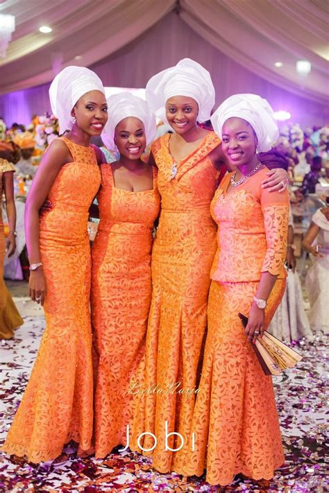 Yoruba Wedding Attire 2015 by Toyin Pastor Poju Oyemade Bellanaija Weddings February