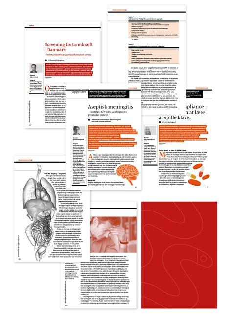 layout af en artikel blikfang nu visuel identiteter og grafisk design layout og