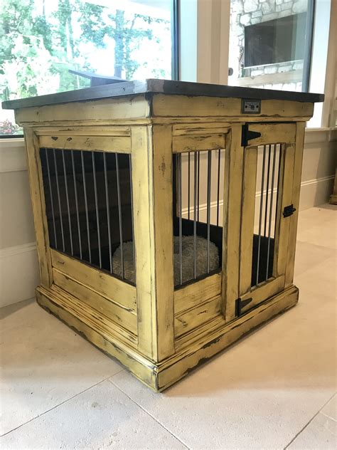 designer indoor dog kennels replace  wire dog crate