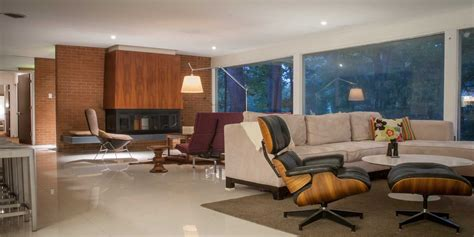 the living room st louis this charles e king s mid century house is a declaration of mid century home