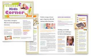free newsletter templates for publisher kindergarten newsletter template word publisher
