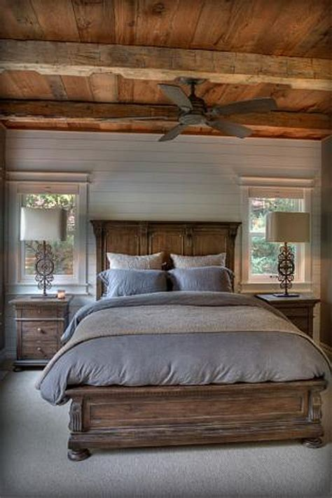 50 rustic master bedroom ideas 10