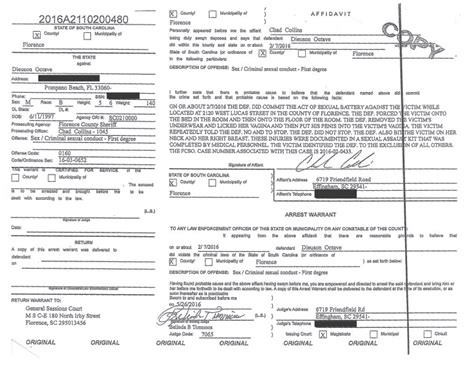 Carolina Arrest Warrant Search Kodak Black S Warrant For Sexual Battery Charge Released