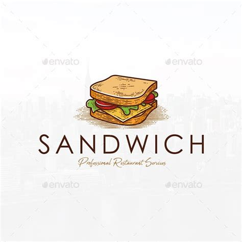 sandwich shop menu template logo designs templates from graphicriver