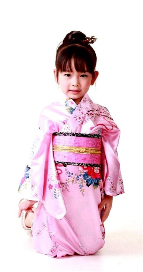 Kimono Pink sweet in pink kimono childrens kimono kimono