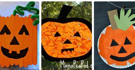 pumpkin crafts for 21 adorable pumpkin crafts for the kindergarten