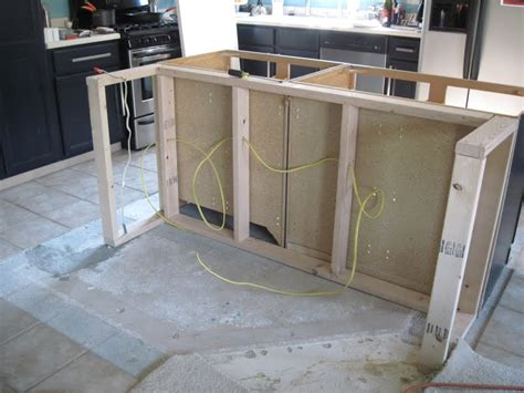 Kitchen Island Construction | kitchen island construction 28 images kitchen ideas