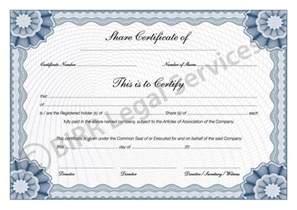 shareholder certificate template certificate new calendar template site