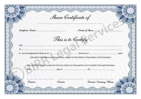 stock certificate template pdf doc 960720 delaware llc delaware corporate kits