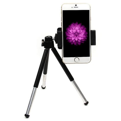 rotatable tripod stand mount holder for iphone 6 5s 5c5 4s gps pad ebay