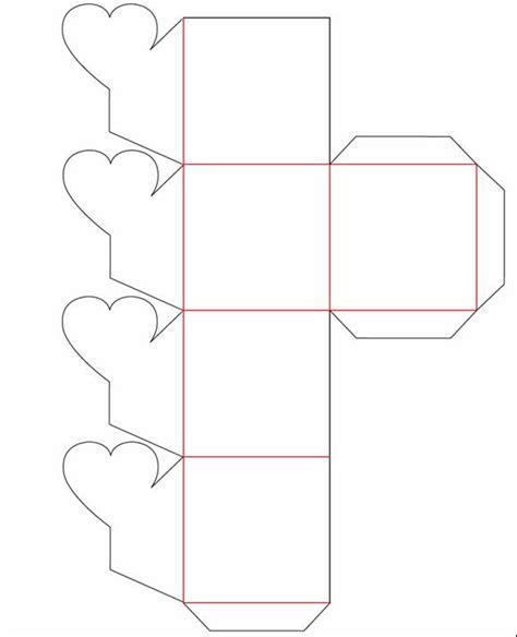 Moldes De Cajitas De Papel | caja flor molde jpg 577 215 712 cajas pinterest