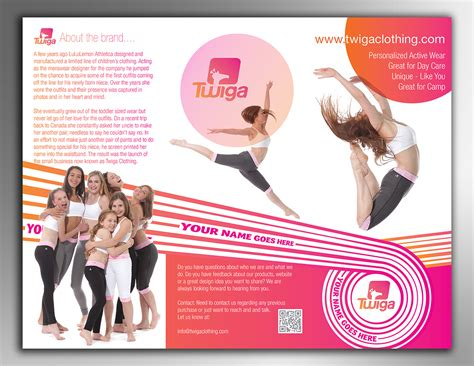 template brochure clothing elegant traditional brochure design for twiga clothing by