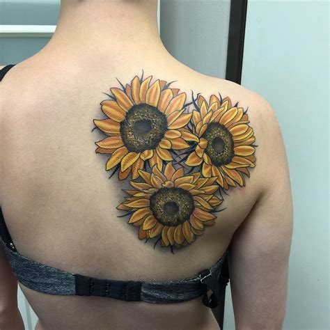 sunflower tattoo meaning 80 bright sunflower tattoos designs meanings for
