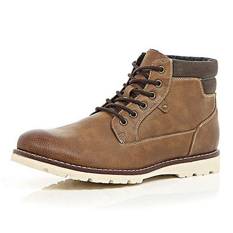 Sepatu Blackmaster Casual Lace Psd Navy brown lace up hiker boots boots shoes boots style s shoes shoes