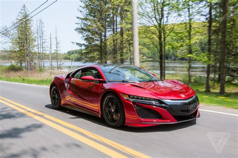 acura supercar 2017 acura nsx review a gentler supercar the verge