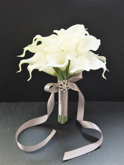 Calla Wedding Bouquet by Calla Bridesmaid Bouquet Www Imgkid The Image
