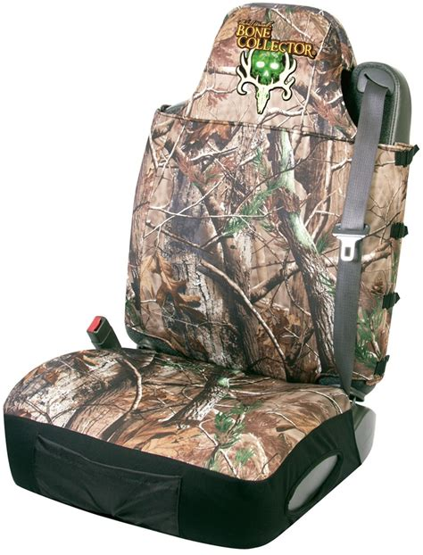 Bone Collector Universal Fit Bucket Seat Cover Neoprene Camo Bone Collector