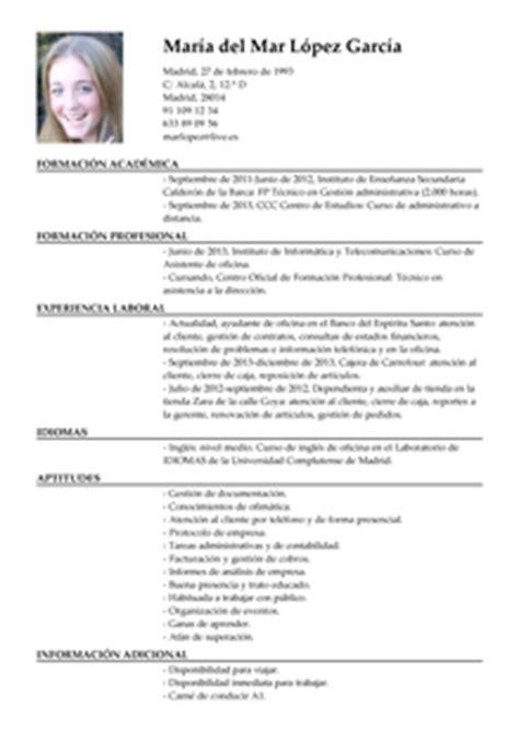 Modelo De Curriculum Vitae De Un Administrativo Modelo De Curr 237 Culum V 237 Tae Auxiliar Administrativo Auxiliar Administrativo Cv Plantilla