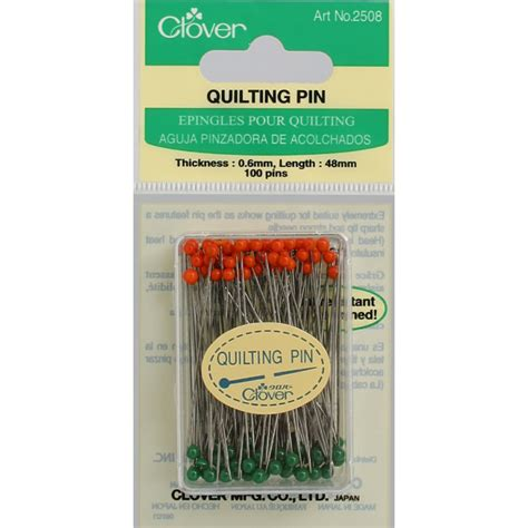 Clover Quilting Pins by Quilting Pins 100 Ea Clover