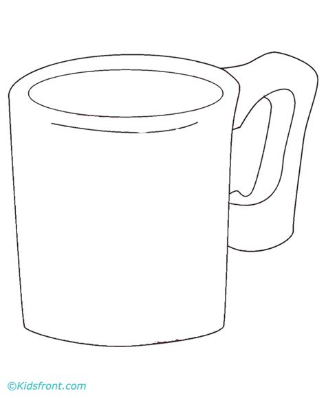 cups free coloring pages