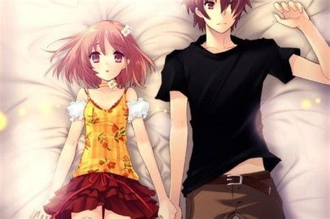 couple wallpaper pair flyable heart inaba yui blush socks skirt pair hd