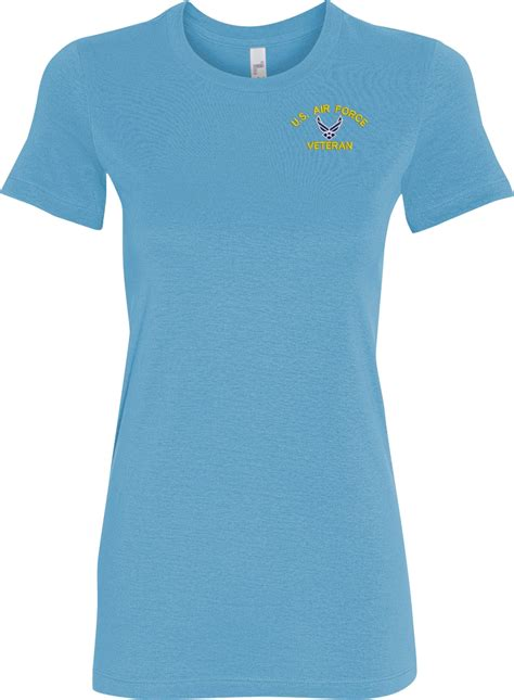 custom embroidery shirts custom embroidered u s air force ladies t shirt
